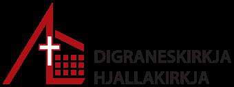 Digraneskirkja og Hjallakirkja Logo